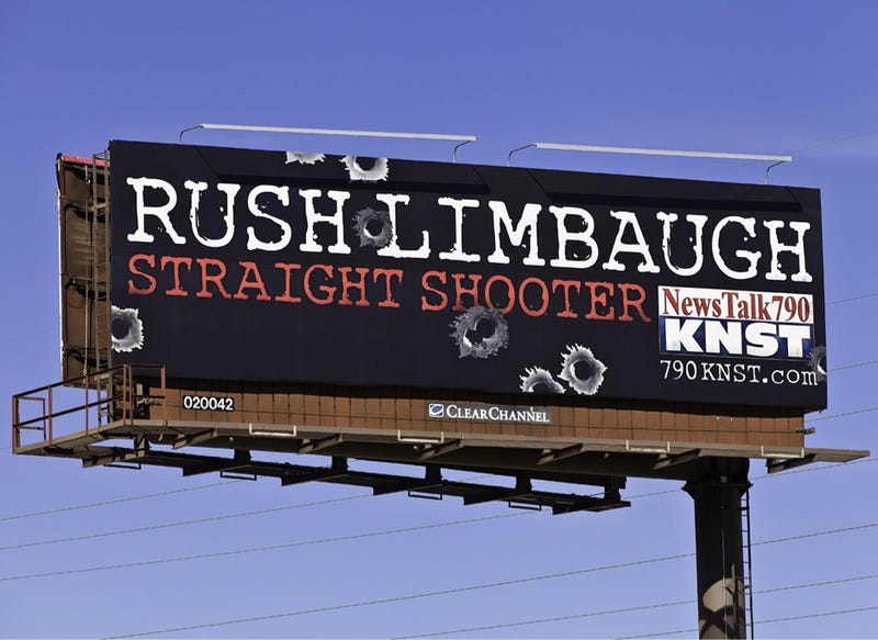 Rush Limbaugh's Tucson Billboard Is Just Perfect