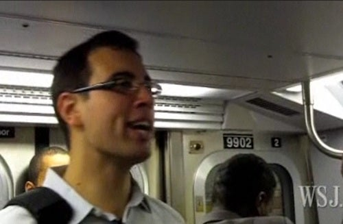 Wall Street Journal Shocked That Crazy Guy on Subway Is Not Poor