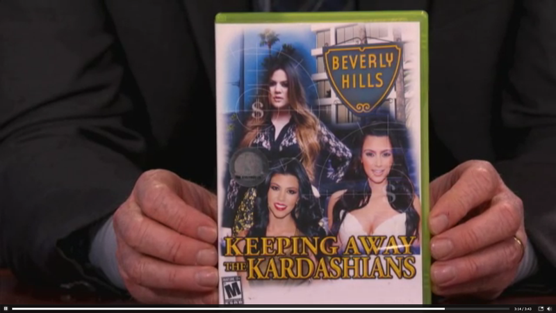 Conan O'Brien Debuts Call of Duty: Teenage Girl Edition and Keeping Away From the Kardashians