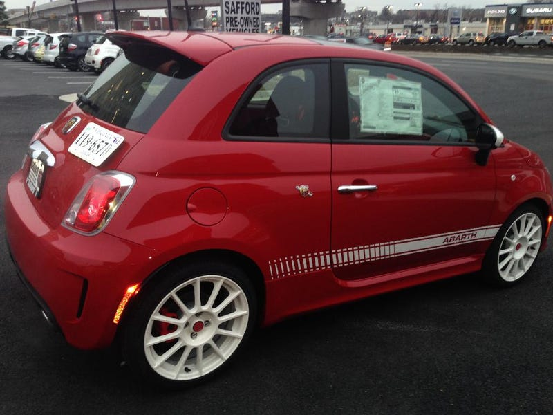 The Fiat 500 Abarth: A Review