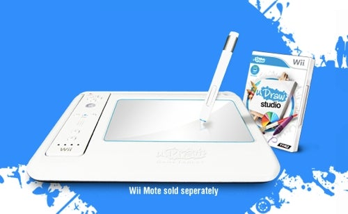 Wii Getting Tablet Peripheral