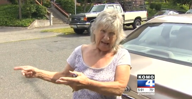 Teens Fail At Stealing Awesome Old Lady's Stick-Shift Kia