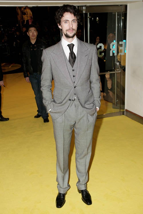 Ridiculously Handsome Men At Watchmen UK Premiere