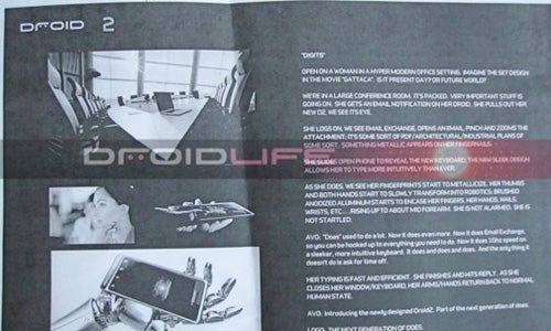 Motorola's Droid X (Xtreme) and Droid 2 (Shadow) To Drop July/August