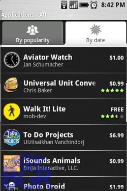 Paid Apps Appearing In Android Market