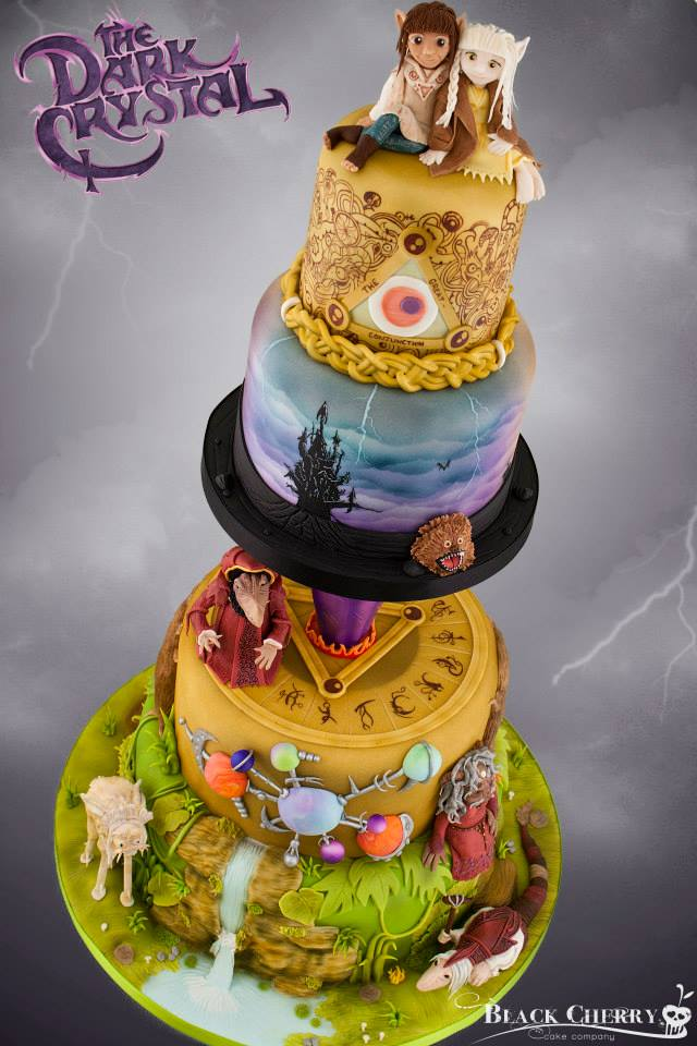 Dark Crystal Wedding Cake! Dark Crystal Wedding Cake!