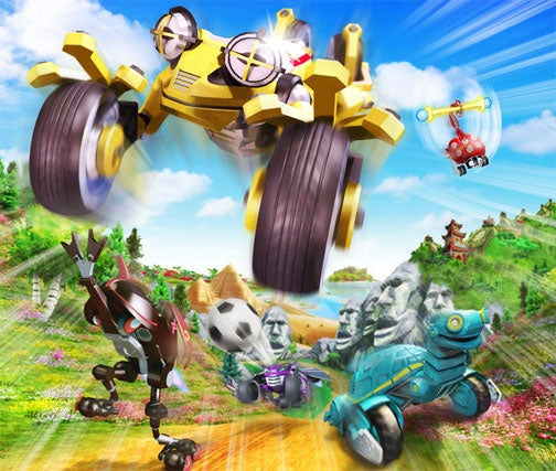 First Screens, Details On Nintendo's ExciteBots