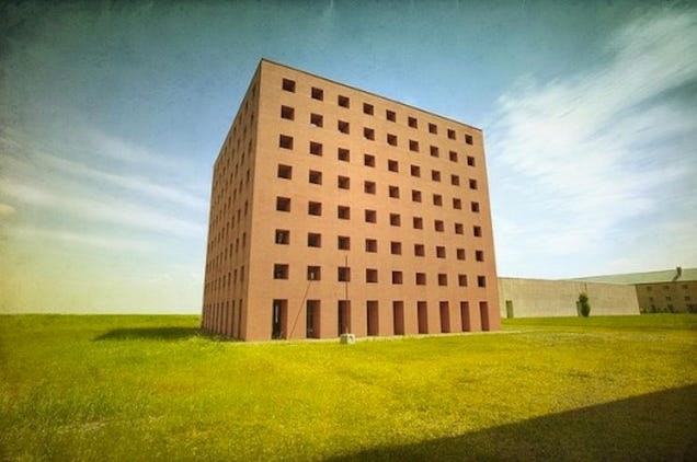 This Unfinished Concept Building Dared To Look To The Future of Burial