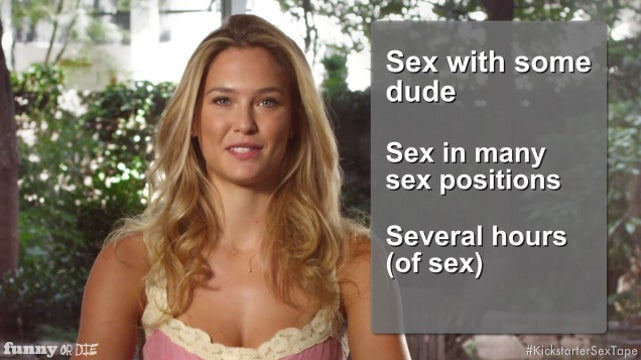 Bar Refaeli Needs Your Help Raising Funds for Her Sex Tape