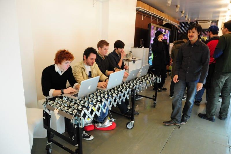 Gallery Reveals Secret Gizmodo Production Chain