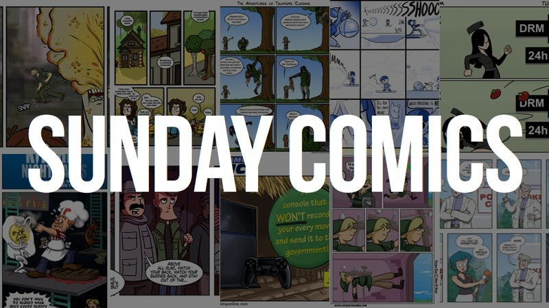 Sunday Comics: A Pocket Full of Whoopass