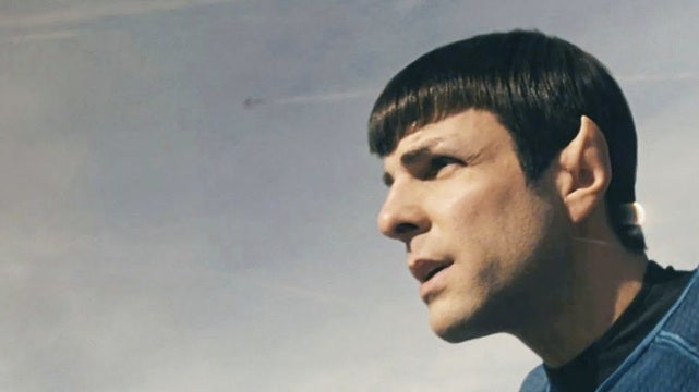 Who is Spock Vulcan nerve-pinching in the first Star Trek 2 photos? Spoilers!