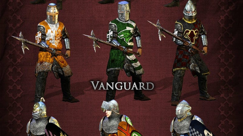 Now You Can Paint Your Chivalry Character Pretty, Pretty Colors