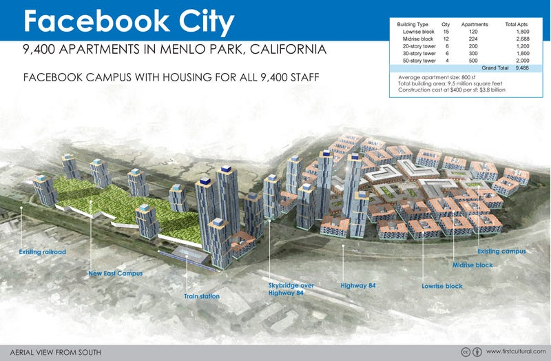What would Google, Apple, and Facebook look like if they built cities?