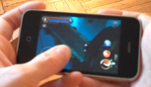 When A Thumb Gets In An iPhone Gamer's Way, More or Less