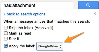 Instantly Send Any Gmail Attachment to Google Drive