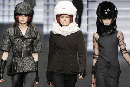 Fashion's New Look: Space-Age Warriors. Android Bikers. And Foam!