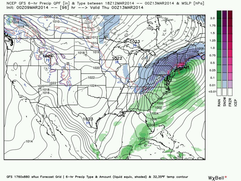 Models Hinting at Nor'Easter Later This Week