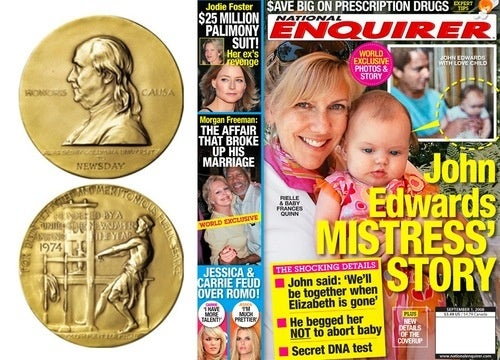 There's No Good Reason the National Enquirer Shouldn't Win a Pulitzer Prize
