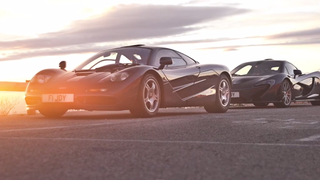 McLaren F1 VS. McLaren P1: The Showdown You've Been Dreaming About