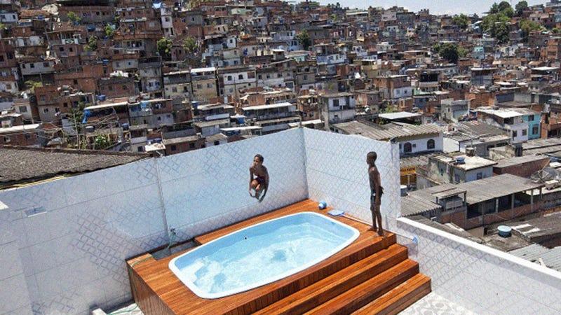 Drug King's Luxury Triplex Hidden In the Slums