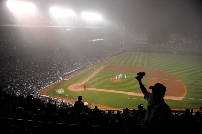 More Photos From Foggy, Foggy Wrigley Field