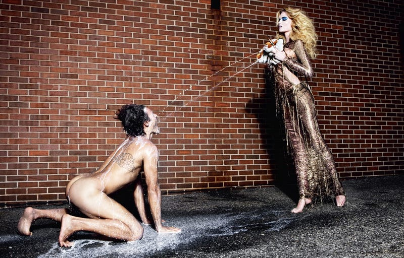 Photos Reimagine Breast Milk As A High-Fashion Weapon