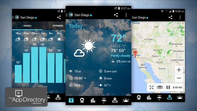 The Best Weather App for Android