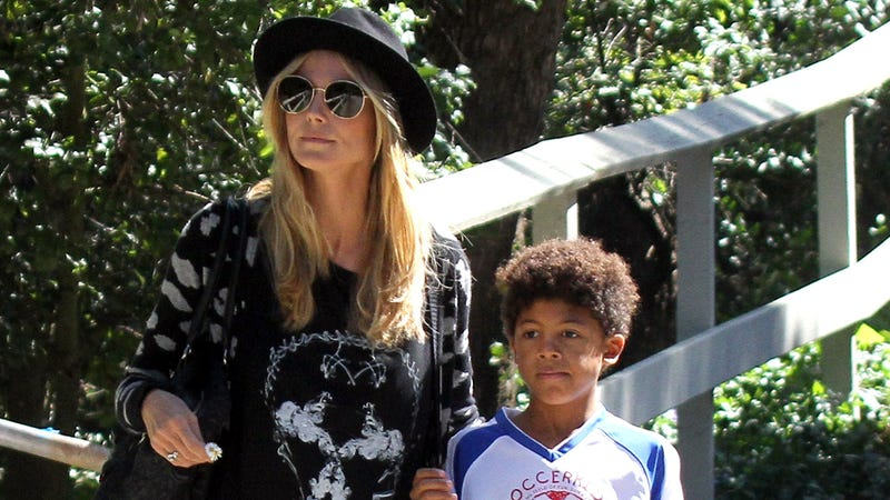 Heidi Klum's Son and His Nannies Were Almost Swept Away by the Ocean This Easter (UPDATE)