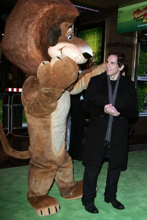 Ben Stiller Has A Friendly, Furry Fan