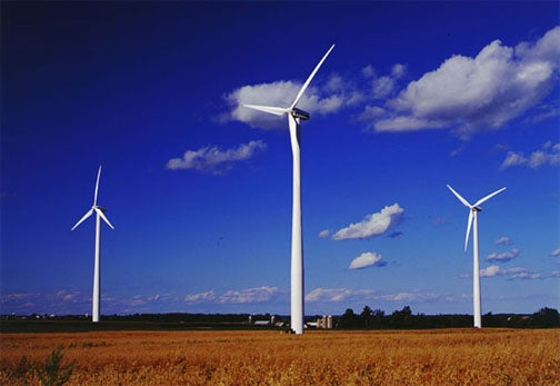 U.S. Flew to the Top in Wind Power Production Last Year