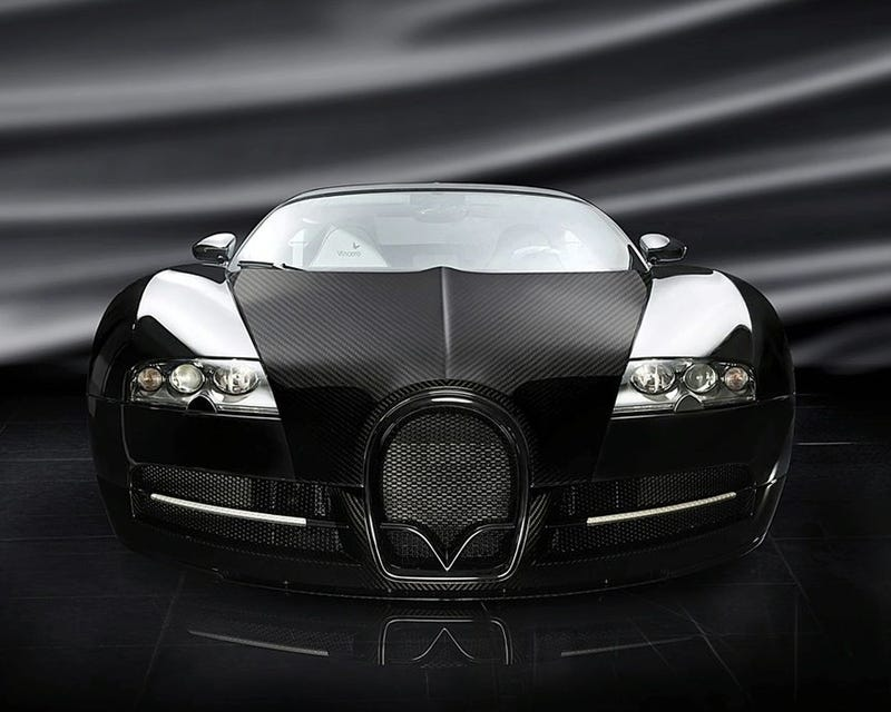 Mansory Veyron LINEA Vincerò: Carbon Fiber, Polished Aluminum And Silliness
