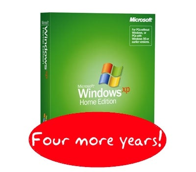 Windows XP Gets Another Six Months to Live: Will Not Go Gently Into that Good Night