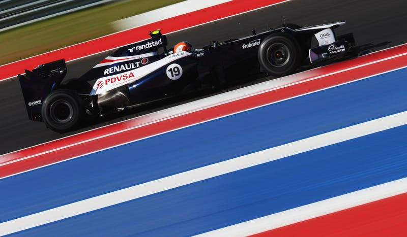 One Early Problem With Austin's New F1 Track? It's A Bit Slippery