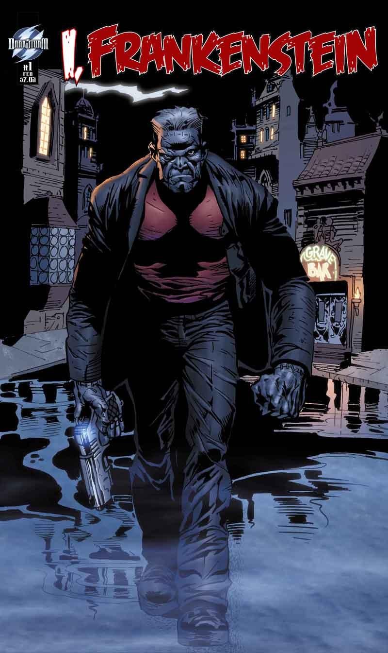 Aaron Eckhart is the world's sexiest Frankenstein monster
