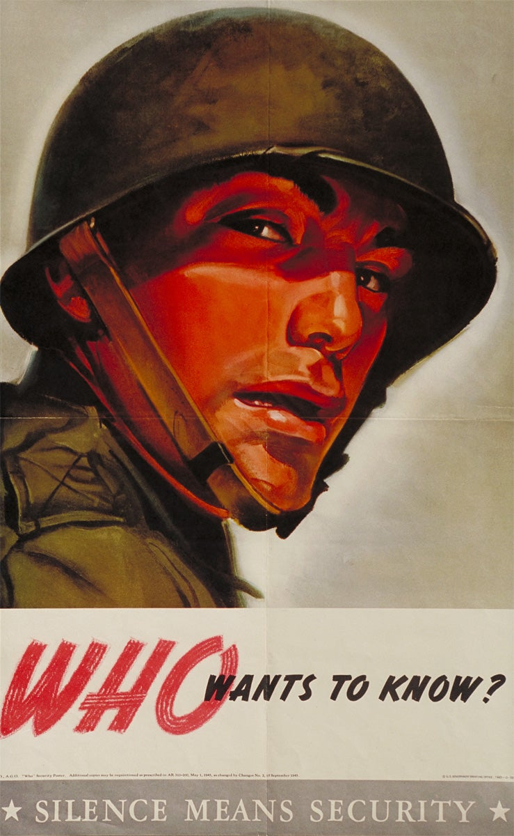 The Best Operations Security Propaganda Posters From World