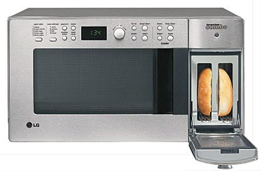 LG Combination Microwaves Pleases the Convergence Fiends
