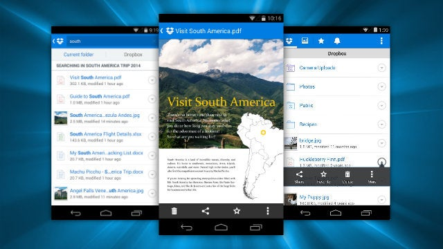 Dropbox for Android Adds Document Previews and Smarter Search