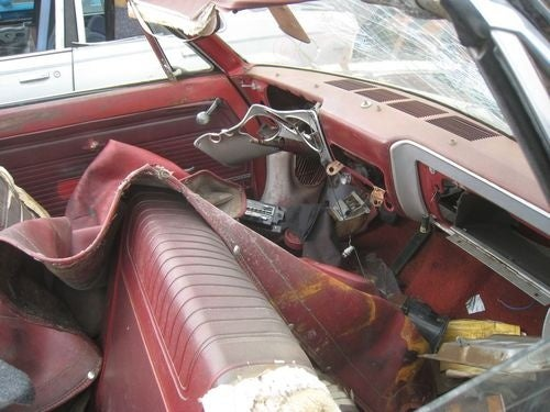 1965 Chevrolet Corvair Convertible Down On The Junkyard