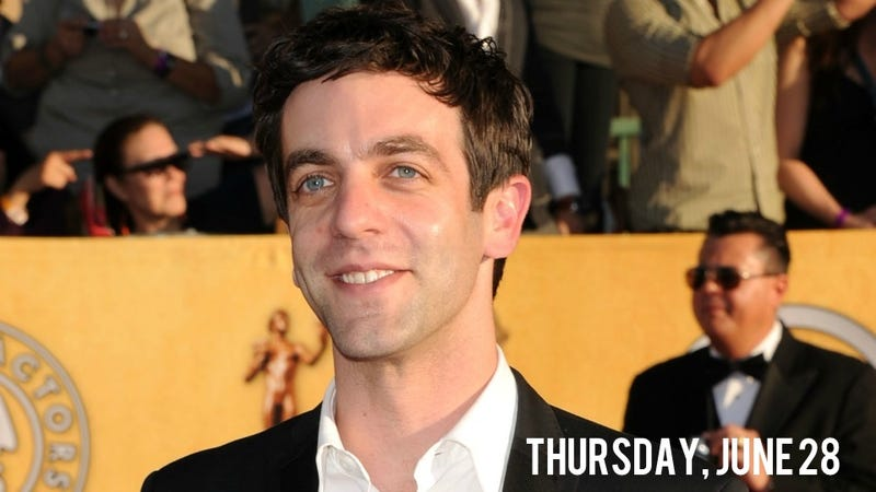 B.J. Novak Gives The Office His Two Weeks' Notice