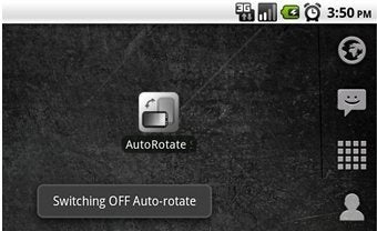 AutoRotate Switch Toggles Screen Rotation on Your Android Phone