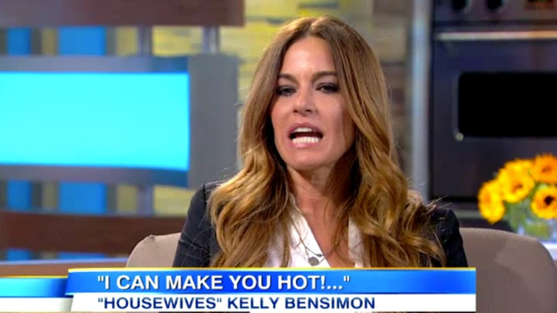 How Many Times Can Kelly Bensimon Say The Word 'Hot' In a Single Interview?