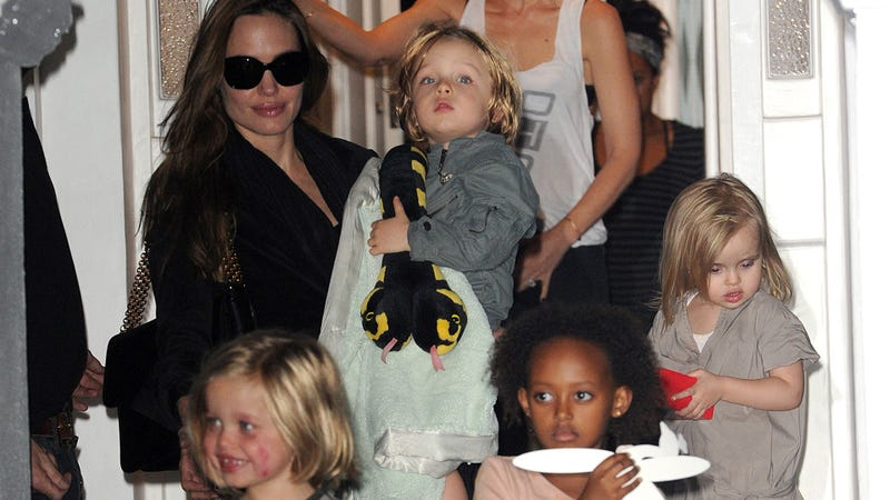 Zahara and Pax Jolie-Pitt Will Appear in Maleficent Too; Shiloh Was Fired Because She's Moody