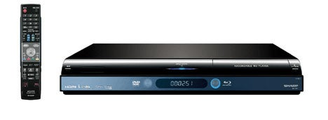 Sharp's BD-HP1 Blu-ray Player Lets You Record HD Content Onto Blu-ray Discs