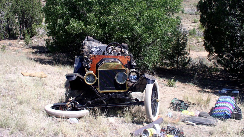 One Dead, Three Injured In Ford Model T Crash