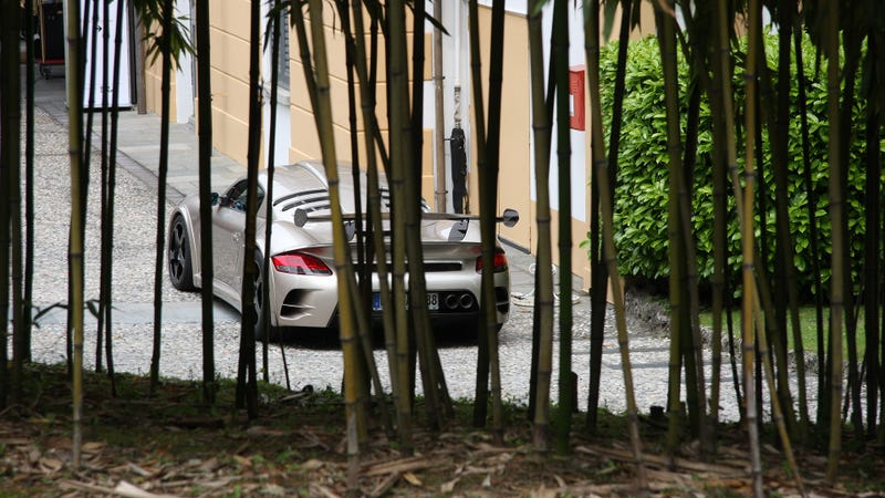 Hiding Behind The Bamboo Was Ralph Lauren's Fast Ride To Como