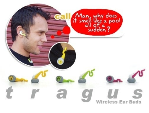 Tragus Headset Designer Likely Had Baby Batter On the Brain