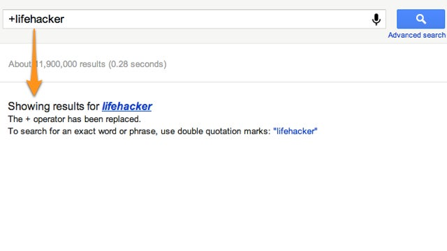 Use Quotation Marks Instead of + to Require a Search Term in Your Google Results