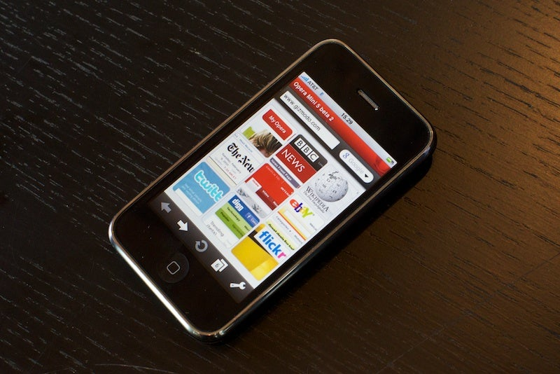 Unbelievable, Download Opera Mini for iPhone Now