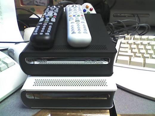 Limited Edition Black Xbox 360 HD DVD Drive